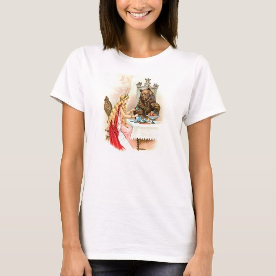 Beauty and The Beast Vintage Image T-Shirt