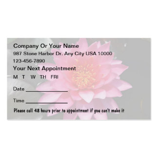 Beauty Appointment Cards Business Card