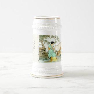 """""""Beauty & Beast"""" Beer Stein"""