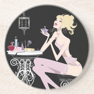 Beauty Black Coaster
