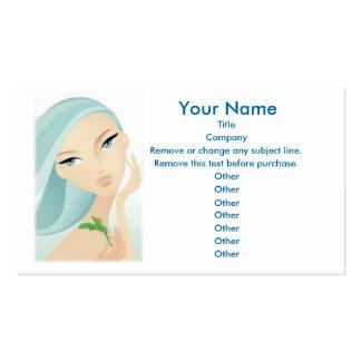 Beauty Business Card custom template