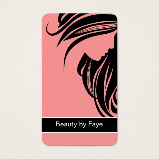 Beauty Business Cards Hairdresser