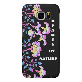 Beauty By Nature - Colorful flower garden Samsung Galaxy S6 Cases