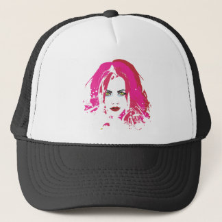 Beauty by punkychicken trucker hat