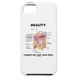 Beauty Cannot Be Just Skin Deep (Skin Layers) Case For The iPhone 5
