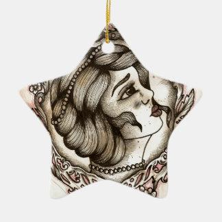 Beauty Ceramic Star Decoration