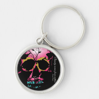 Beauty comes from within Keychain