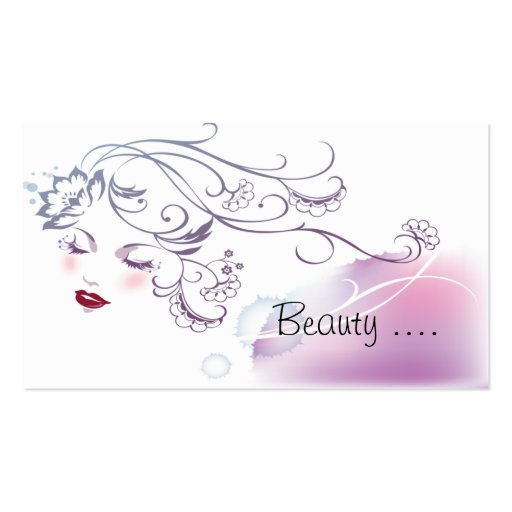 Beauty Consultant Business Card