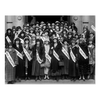 Beauty Contestants, 1923 Postcard