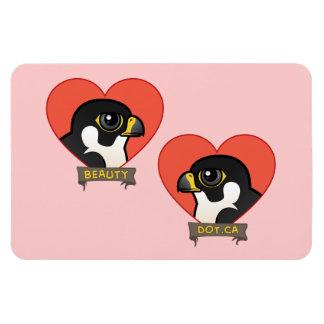 Beauty & Dot.Ca Hearts Rectangular Photo Magnet