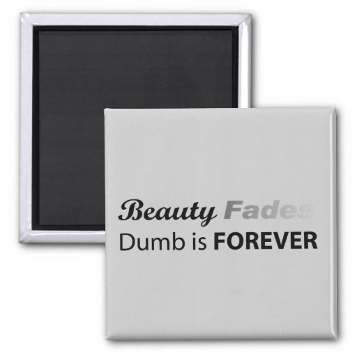 Beauty Fades - Magnet