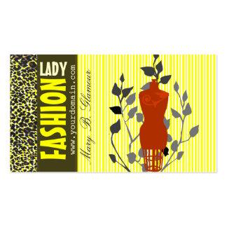 Beauty Fashion Business Card