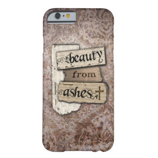 Beauty From Ashes Christian Damask Scrap Barely There iPhone 6 Case