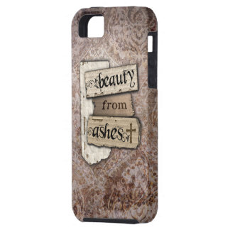 Beauty From Ashes Christian Damask Scrap iPhone 5 Cover