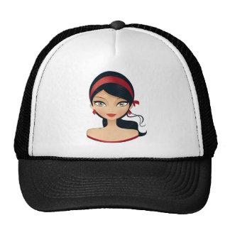 Beauty Girl Hats
