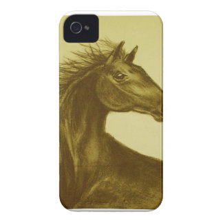Beauty Horse Blackberry case Mate