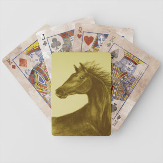 Beauty' Horse Portrait Playing Cards