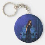 Beauty in Blue Key Chain