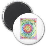 Beauty in Life Rounded Rainbow Fridge Magnets