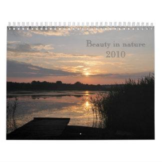 Beauty in nature sceneries - calendar 2010