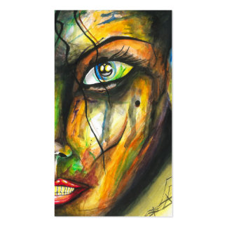 Beauty in Perseverance - Watercolor Art Pack Of Standard Business Cards