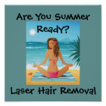 Beauty In the City 002, Are You Summer Ready?, ... Poster