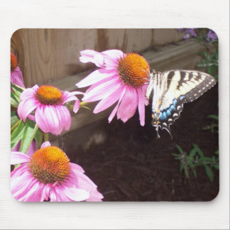 Beauty in the garden mouse pad