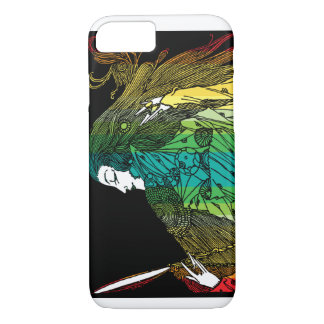 Beauty in the looking glass iPhone 7 case
