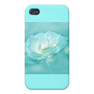 BEAUTY IN THE MIST - TOURQUOISE iPhone 4 CASES