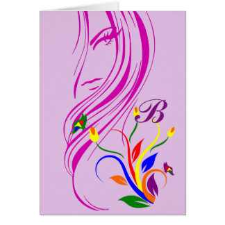 Beauty is a Butterfly Encouragement Card