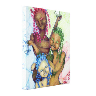 Beauty is as Beauty Does Art Gallery Wrapped Canvas