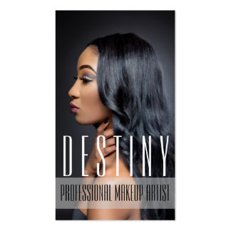 Beauty MakeUp Artist Cosmetology Hair Salon Business Card Templates