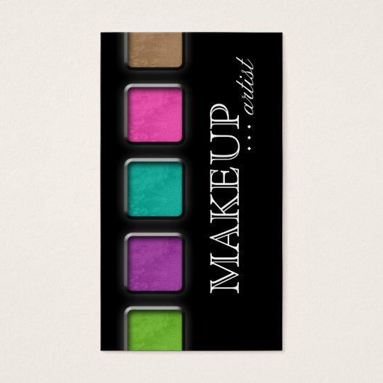 Beauty Makeup Artist Salon Spa Palettes Colourful Business