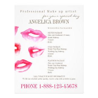 Beauty & Makeup Flyer Template