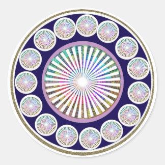 Beauty Mantra - ART101 Chakra Collection Sticker