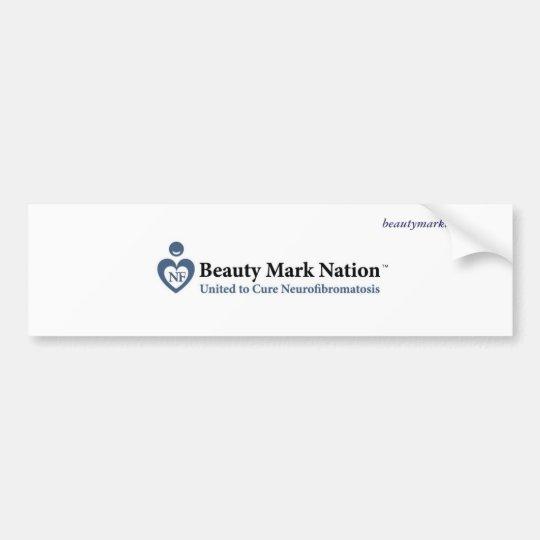 Beauty Mark Nation Bumper Sticker