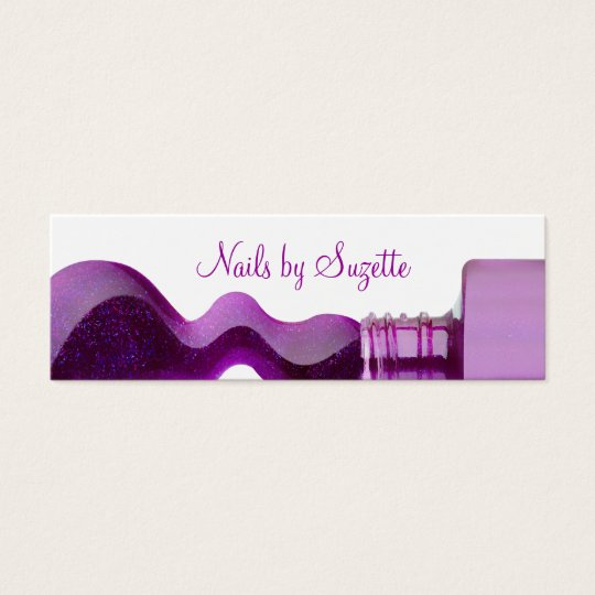 Beauty Nails Mini Business Cards