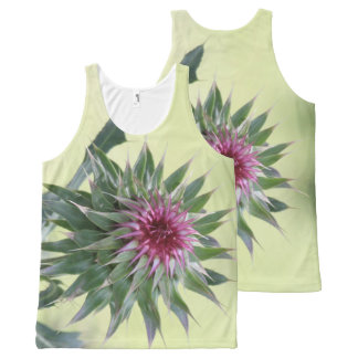 Beauty of a Bud All-Over Print Tank Top