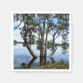 Beauty Of A Gum Tree, Disposable Serviette