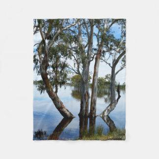 Beauty Of A Gum Tree  Small Fleece Blanket.