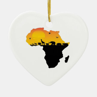 BEAUTY OF AFRICA CHRISTMAS ORNAMENT