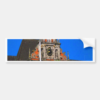 Beauty of Ancient Time Harburg city hall Bumper Sticker