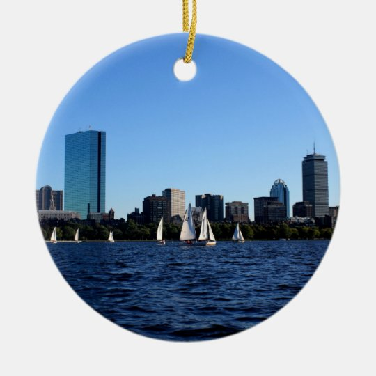 Beauty of Boston Ornament