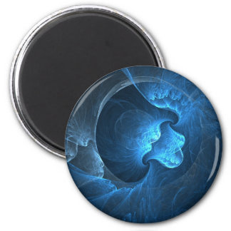 Beauty Of Life Round Magnet