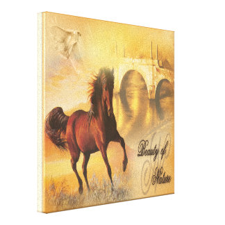 Beauty Of Nature - Wrapped Canvas