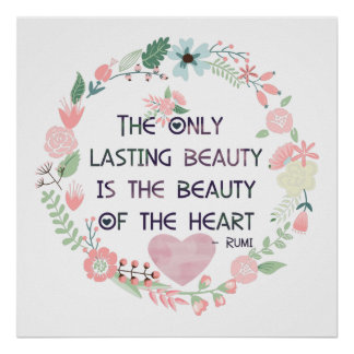 Beauty of the Heart Poster