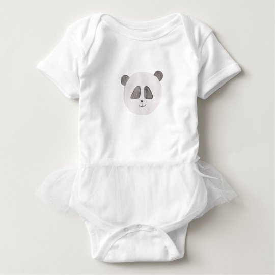 Beauty Panda Baby Bodysuit