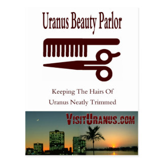 Beauty Parlor Post Card