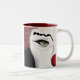 Beauty Peeking Coffee Mugs