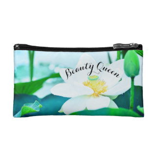 Beauty Queen cosmetic makeup bag. Makeup Bags